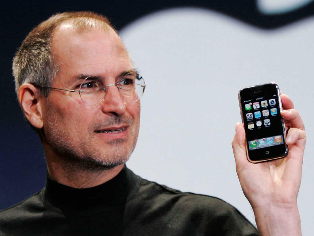Steve Jobs első iPhone